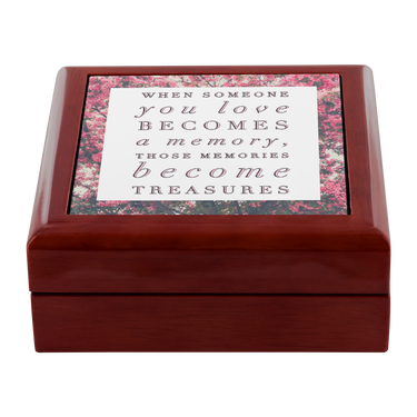 Wooden Keepsake Memory Box - Loss Loved One Gift - Gifts For Grieving -