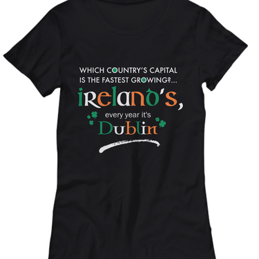 Irish Shirts For Women - Green Shirt - Funny St Patricks Day Gift -
