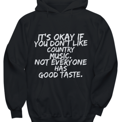 funny country music lovers hoodie