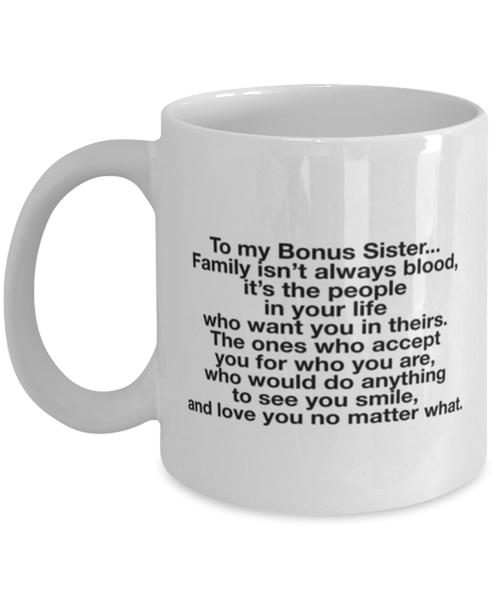 Bonus Sister Gift, Sister In Law Gift, Sister Of The Groom, Wedding, Thank You, Bridesmaid, Bridal Shower