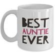 Auntie Mug-Gift for Aunt-Aunt Gift-Best Auntie Ever-Sister Gift-New Auntie-Aunt Birthday-Auntie Christmas