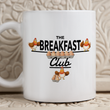 "Chicken Coffee Or Tea Mug - Chicken Lovers Gift - Chicken Owners Gift - ""The Breakfast Club"""