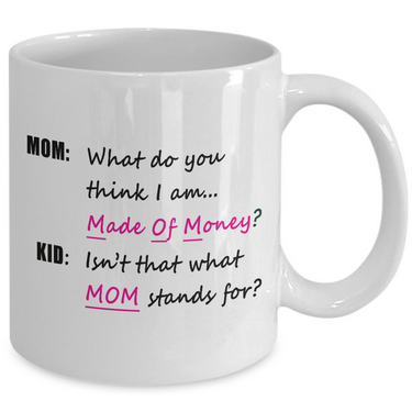 Mom Coffee Mug - Funny Gift For Moms - Mug For Women -