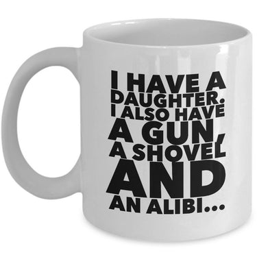 Dad Coffee Mug - Funny Fathers Day, Birthday Or Christmas Gift For Dads -