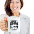"Funny Coffee Mug -Sayings Mug For Her Or Him - Dad Or Mom Gift -""The Best Part About Being Over 40"""