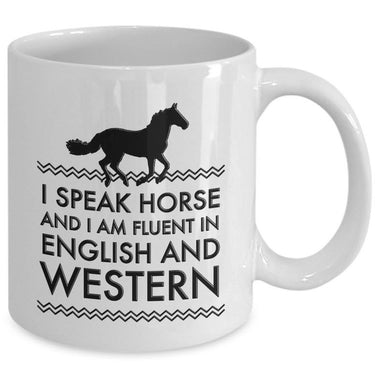 Horse Coffee Mug - Funny Horse Lovers Gift - Cowgirl Gift Idea -