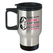 "Horse Travel Mug - Stainless Steel Horse Mug - Horse Gifts For Women Horse Lovers -""Horse Show Mom"""