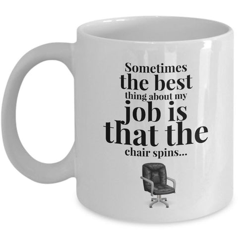 Office Coffee Mug - Funny Job Or Work Mug - Coworker Gift -