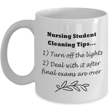 Student Nurse Coffee Mug - Funny Nursing Student Gift - Nursing School Present For Student Nurses -