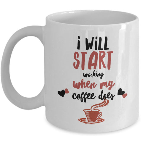 Coffee Lover Mug - Funny Coffee Lovers Gift Idea -