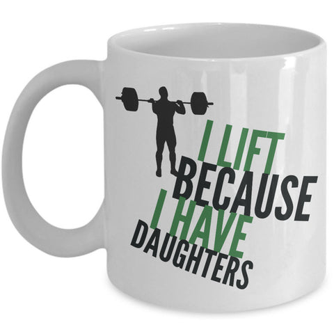 Weight Lifting Mug - Womens Or Mens Gym Mug - Fitness Gift -