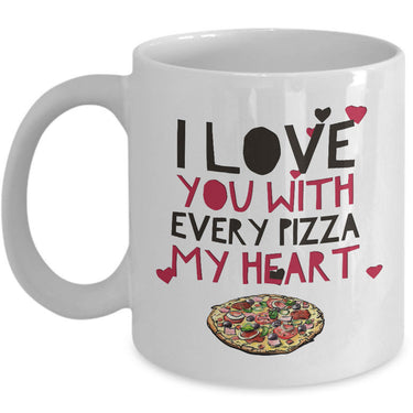 Valentines Day Or Anniversary Coffee Mug - Funny Anniversary Gift - Ceramic Love Mug -