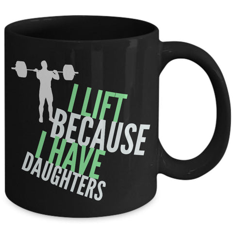 Weight Lifting Coffee Mug - Womens Or Mens Gym Mug - Fitness Coffee Mug -