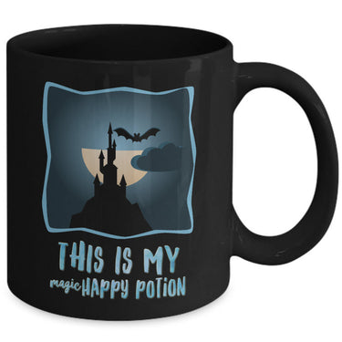 Halloween Coffee Mug- Halloween Gift Idea For Adults - Potion Mug -