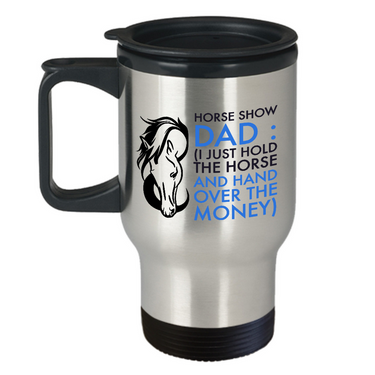 Horse Mug - Stainless Steel Horse Travel Mug - Horse Gifts For Men Horse Lovers -