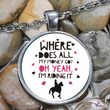 "Horse Necklace - Funny Horse Lovers Gift For Women - Horse Jewelry - ""Where Does All My Money Go"""