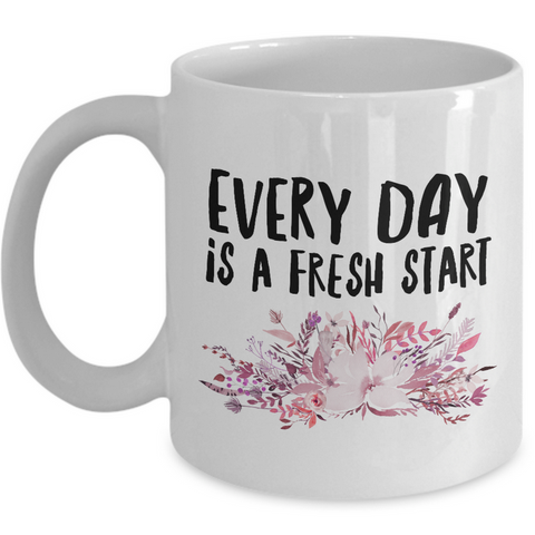 Inspirational Quote Coffee Mug - Unique Inspiring Motivational And Encouraging Gift -