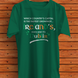 "Irish Shirts For Women - Green Shirt - Funny St Patricks Day Gift - ""Which Country's Capital?"""