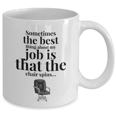Office Coffee Mug - Funny Job Or Work Mug -