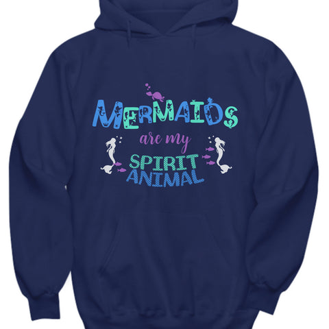 Mermaid Hoodie For Women - Mermaid Gift For Mermaid Lovers -