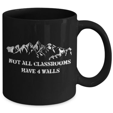 Camping Coffee Mug - Hiking Or Climbing Gift Idea For Wilderness Lovers -