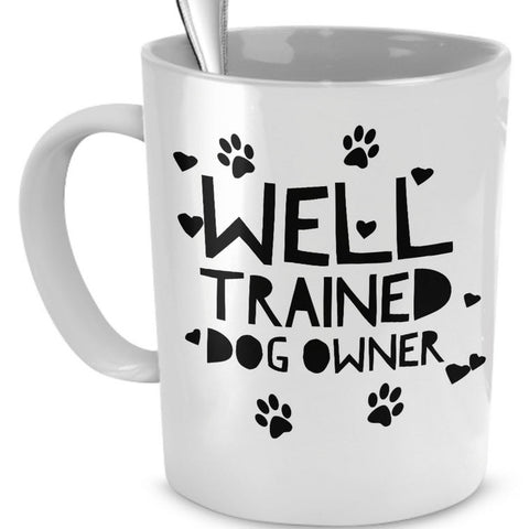 Dog Coffee Mug - Funny Dog Lover Gift For Men Or Women -