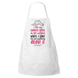 "Country Music Apron - Funny Gift For Country Music Lovers - ""I Like My Country Music At The Volume"""