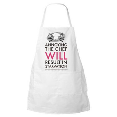 Chef Apron - Funny Gift For Chefs and Cooks - Mother's Day Or Father's Day Gift Idea -
