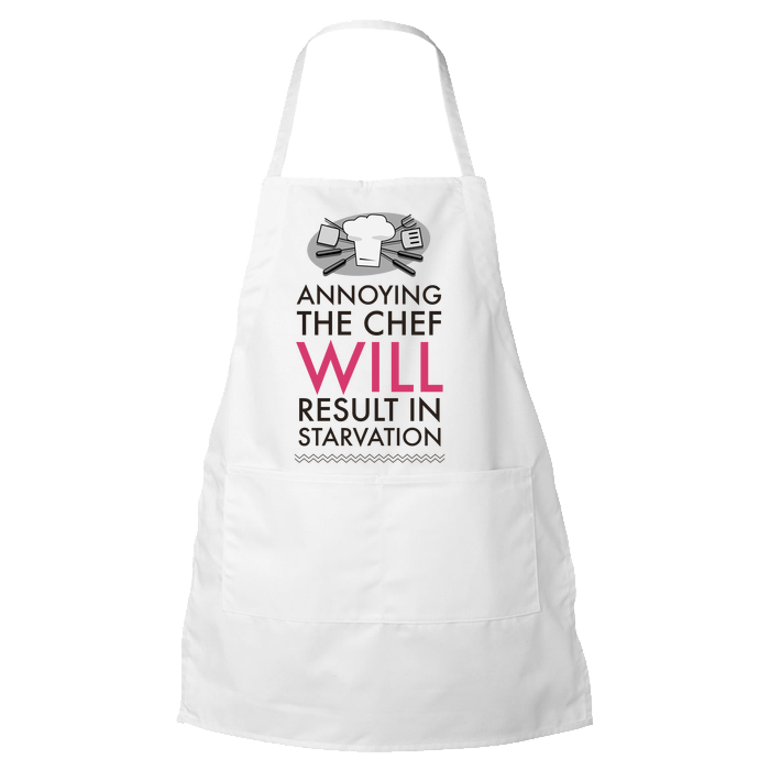Chef Apron Funny Gift For Chefs Cooks Mother S Day Or Father S D Custom Cre8tive Designs