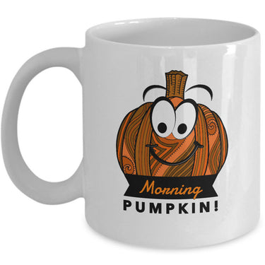 Pumpkin Coffee Mug - Fall Or Autumn Gift Idea -