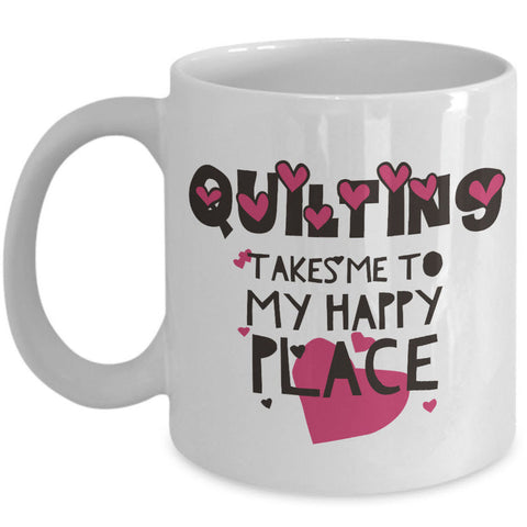 Sewing Coffee Mug - Funny Sewing Lovers Gift - Quilters Mug -