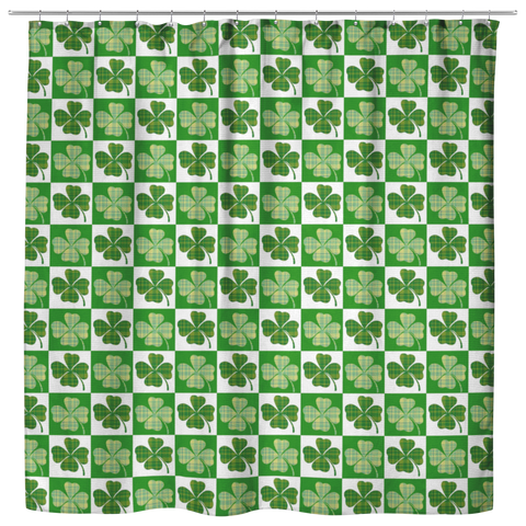 St Patricks Day Shower Curtain - Irish Shower Curtain - Ireland - Irish Home Decore - St.Patrick's Day Gift - Irish Themed Gifts
