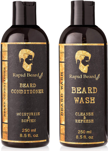 Beard Shampoo & Conditioner (Classic, 250ml)