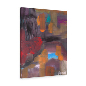 "CAVE VIEW  Canvas Gallery Wraps  10"" x 8"""
