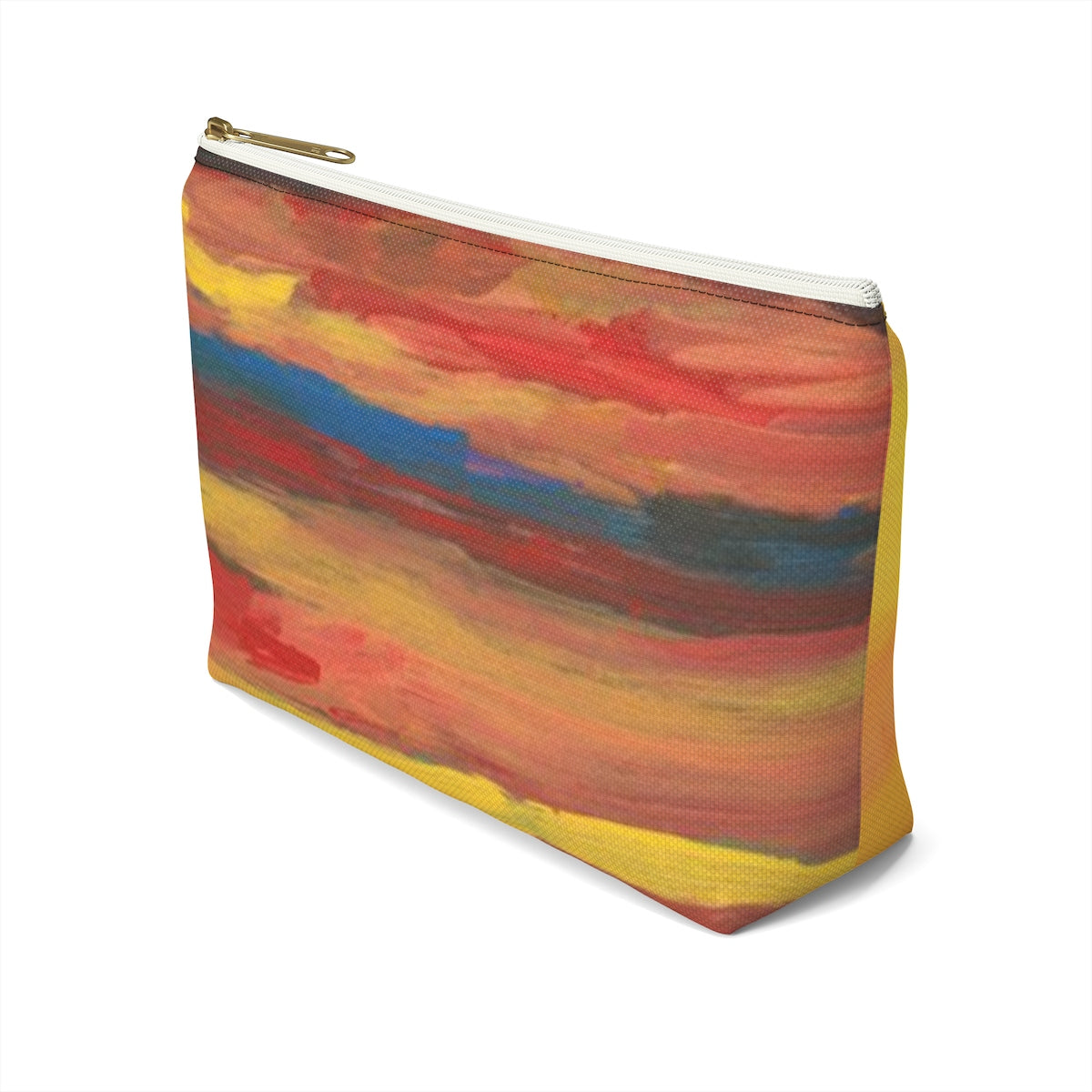 SUNRISE SUNSET Accessory Pouch w T-bottom  LARGE