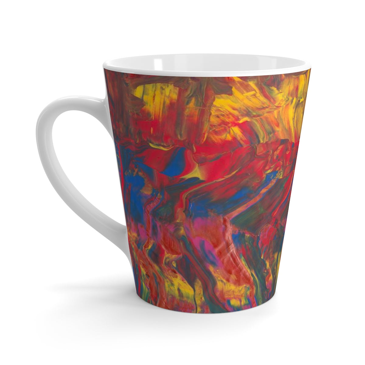 AFRICAN DANCERS C-Handle Latte Mug  12 oz.