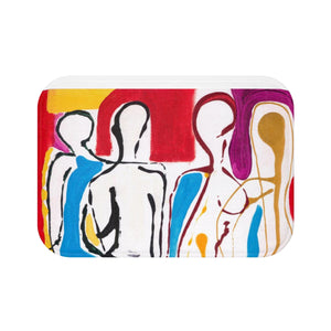 4 BODIES Bath Mat  LARGE  34' X 21""