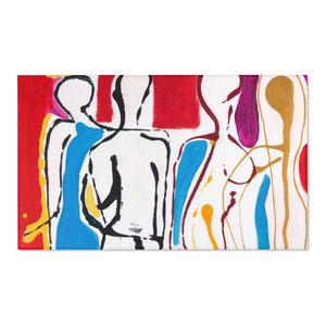 "4 BODIES  Area Rugs   72"" X 48"""