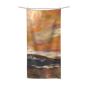 "GOLDEN VALLEY  Polycotton Towel  36"" x 72"""
