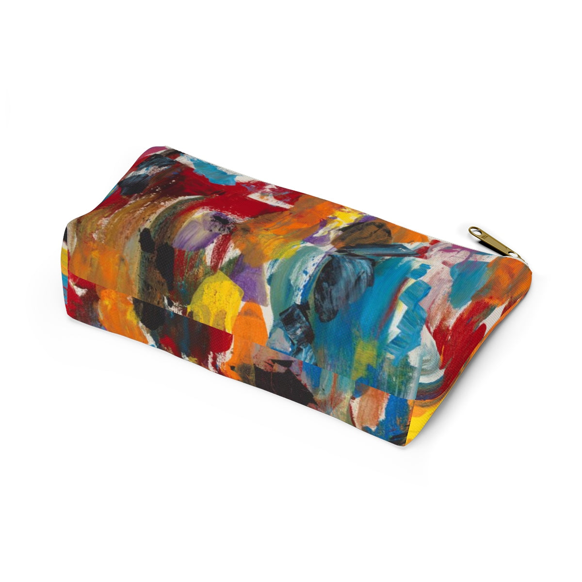 COLOR FUSION Unisex Accessory Pouch w T-bottom  LARGE