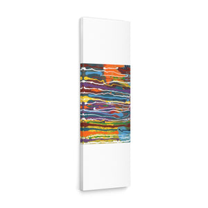 "MARDI GRAS  Canvas Gallery Wraps  36"" x  12"""