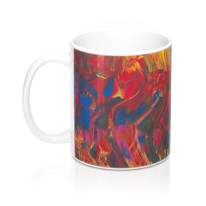 AFRICAN DANCERS C-Handle Shape Mug 11 oz.