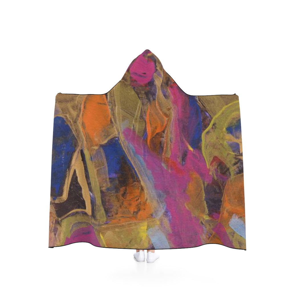 "PHOENIX FROM ASHES  Hooded Blanket  50"" x 40"""