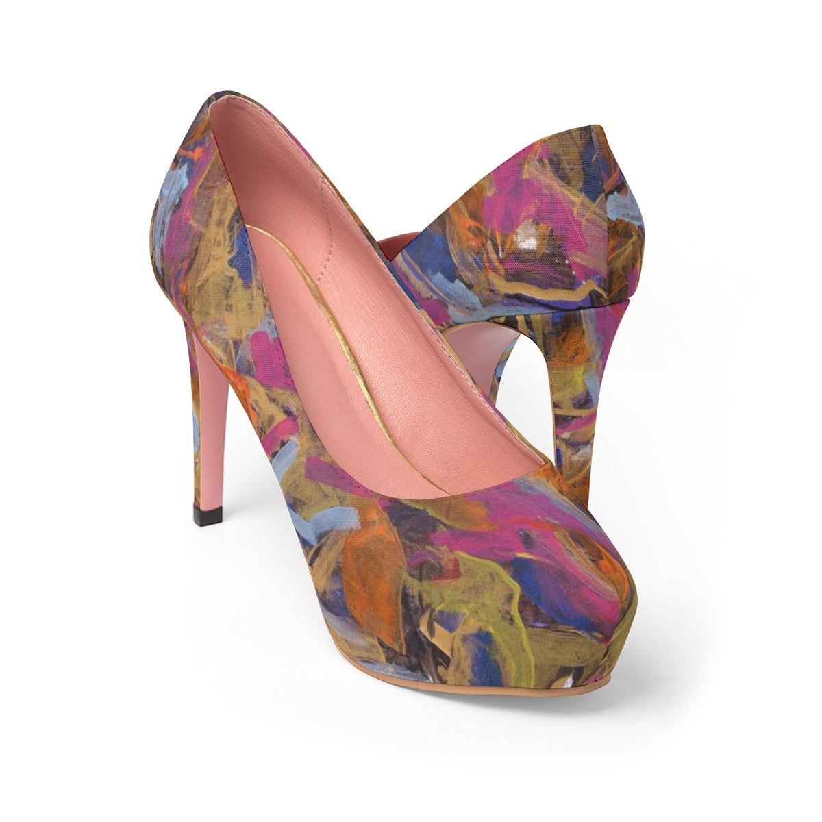 PHOENIX FROM ASHES  Women's Platform Heels  SIZES  5 - 11