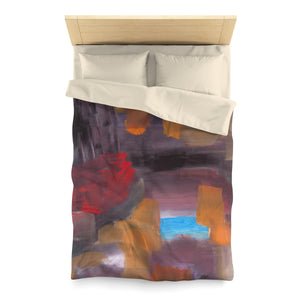 "CAVE VIEW  Microfiber Duvet Cover  TWIN  68"" x 88"""
