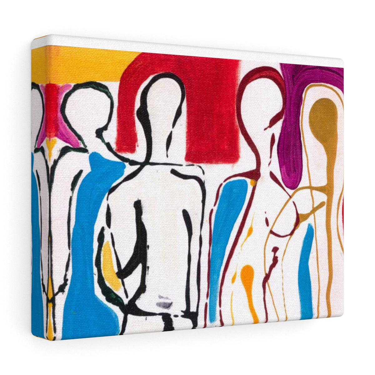"4 BODIES Canvas Gallery Wraps  30""x 24"""