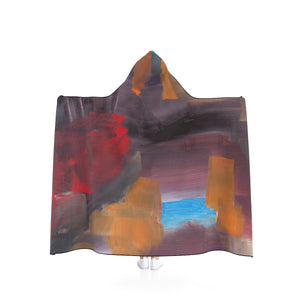"CAVE VIEW UNISEX Hooded Blanket  80"" x  56"""