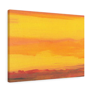 "SUNRISE  SUNSET  Canvas Gallery Wraps  12"" x  16"""
