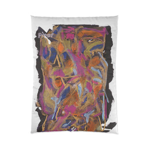 "PHOENIX FROM ASHES  Comforter  104"" x 88"""