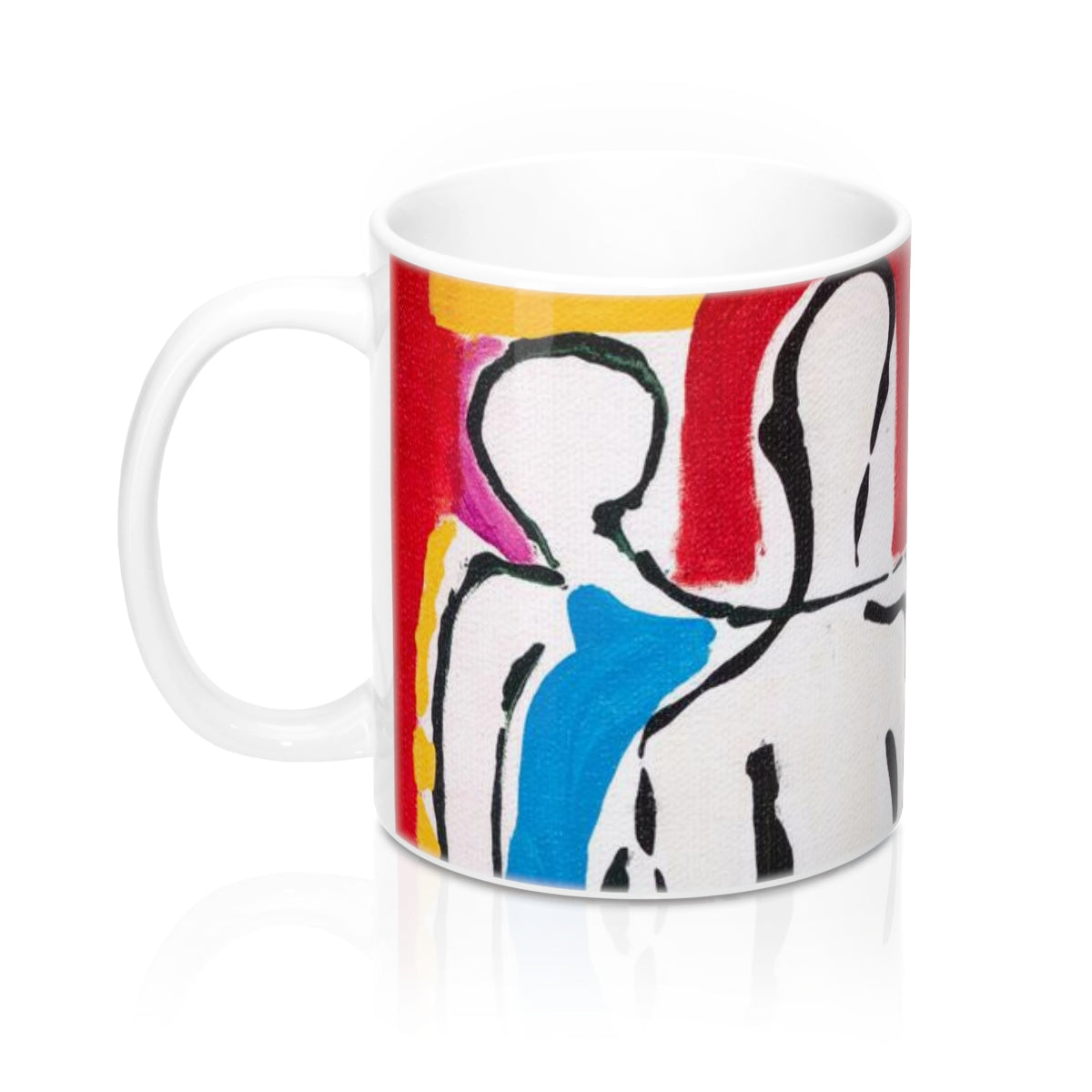 4 BODIES  C-Handle Mug 11 oz.